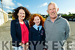 Máire O'Connor graduating from Ardfert NS on Thursday standing with her parents Liam and Siobhan O'Connor.