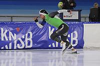 SCHAATSEN: HEERENVEEN: 21-12-2019, IJsstadion Thialf,KNSB trainingswedstrijd, Koen Verweij, ©foto Martin de Jong