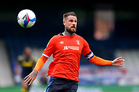 17th October 2020; Kenilworth Road, Luton, Bedfordshire, England; English Football League Championship Football, Luton Town versus Stoke City; Sonny Bradley of Luton Town