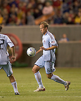 Colorado Rapids midfielder Greg Dalby (6) controls the ball. Real Salt Lake tied the Colorado Rockies, 1-1, at Rio Tinto Stadium on June 6, 2009.