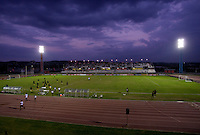 Catherine Hall Stadium. The United States played Jamaica during the CONCACAF Men's Under 17 Championship at Catherine Hall Stadium in Montego Bay, Jamaica.