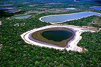 Aérea do Parque Nacional do Pantanal Matogrossense. Mato Grosso. Foto de Ricardo Azoury.