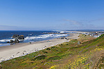 Amazing Bandon Beach, the most photogenic of the Oregon Coast.  Home to two lighthouses, sea stacks, long sandy beaches, and few people.