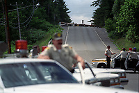 FILE - La crise d'Oka en 1990<br /> <br /> PHOTO  : <br /> -  Agence Quebec Presse