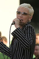 ANNIE LENNOX <br /> PERFOMING AT THE TODAY SHOW'S SUMMER CONCERT SERIES AT NBC STUDIOS, ROCKEFELLER CENTER, NEW YORK CITY 07/02/2005<br /> Photo By John Barrett/PHOTOlink