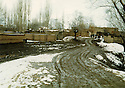 Iran 1980  .Ghassemlou, a Kurdish village in winter  .Iran 1980 .Ghassemlou, un village kurde en hiver