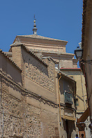 Spain, Toledo. A UNESCO World Heritage Site 70 K south of Madrid. Once home to Christian, Muslim and Jewish cultures. Stone streets,