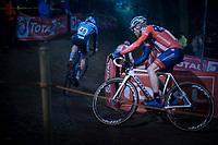 Stephen Hyde (USA/Cannondale-Cyclocrossworld)<br /> <br /> men's race<br /> 44th Superprestige Diegem (BEL) 2018<br /> ©kramon