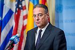 Juan Manuel Gonzalez de Linares Palou, Deputy Permanent Representative of Spain to the UN and Presid
