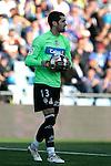 Recreativo de Huelva's Asier Riesgo during La Liga match, March 22, 2009. (ALTERPHOTOS/Alvaro Hernandez).