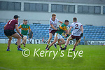 Sean O'Shea, Kerry in action against Dylan McHugh, Galway during the Allianz Football League Division 1 South Round 1 match between Kerry and Galway at Austin Stack Park in Tralee.