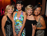 Kim Padgett, Nicole Haagenson, Casey Curry and Miya Shay at the Casino Night for The Health Museum at the Hotel ZaZa Saturday  Aug. 23,2008.(Dave Rossman/For the Chronicle)