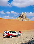United Arab Emirates, Dubai: 4-wheel Drive Safari into the desert | Vereinigte Arabische Emirate, Dubai: Jeep Safari in die Wueste