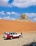 United Arab Emirates, Dubai: 4-wheel Drive Safari into the desert | Vereinigte Arabische Emirate, Dubai: Jeep Safari in die Wueste