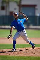 Toronto Blue Jays pitcher Kelyn Jose (73) during a Minor League Spring Training game against the Philadelphia Phillies on March 29, 2019 at the Carpenter Complex in Clearwater, Florida.  (Mike Janes/Four Seam Images)