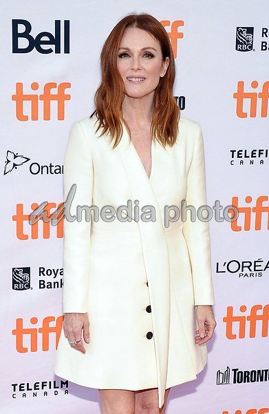 "09 September 2017 - Toronto, Ontario Canada - Julianne Moore. 2017 Toronto International Film Festival - ""Suburbicon"" Premiere held at Princess of Wales Theatre. Photo Credit: Brent Perniac/AdMedia"