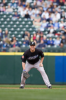 May 19, 2010: Toronto Blue Jays first baseman Lyle Overbay (35) during a game against the Seattle Mariners at Safeco Field in Seattle, Washington.