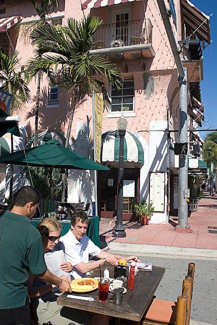 Espanola Way, South Beach, Miami, Florida