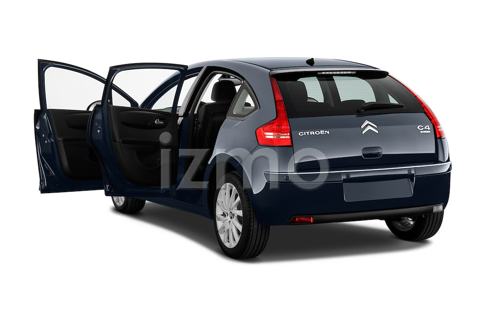 Rear three quarter door view of a 2010 Citroen C4 Millenium 5 Door Hatchback 2WD