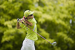 SINGAPORE - MARCH 05:  Paula Creamer of the USA plays her tee shot on the par four 6th hole during the first round of HSBC Women's Champions at the Tanah Merah Country Club on March 5, 2009 in Singapore. Photo by Victor Fraile / The Power of Sport Images