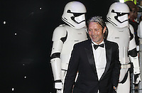 Actor Mads Dittmann Mikkelsen walks past the Stormtroopers during the STAR WARS: 'The Force Awakens' EUROPEAN PREMIERE at Odeon, Empire & Vue Cinemas, Leicester Square, England on 16 December 2015. Photo by David Horn / PRiME Media Images