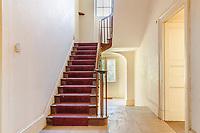 BNPS.co.uk (01202) 558833. <br /> Pic: Strutt&Parker/BNPS<br /> <br /> Pictured: Hall and stairs. <br /> <br /> Nun like it...<br /> <br /> A former convent that has hardly been touched in 80 years is on the market for £450,000.<br /> <br /> Until recently Posbury House was home to an Anglican Franciscan nunnery which moved to the Devon property to escape the danger of German bombardment in the Second World War.<br /> <br /> The eight-bedroom manor house and two acres of gardens have been well looked after by the nuns, but the property is now in need of refurbishment and buyers are relishing the idea of a project.<br /> <br /> Estate agents Strutt & Parker say the property has attracted an extraordinary amount of interest with more than 150 viewings in just ten days. They are now asking for best and final offers by midday on Wednesday.