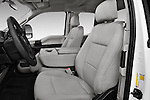 Front seat view of 2017 Ford F-350 XLT-Super 4 Door Pick-up Front Seat  car photos