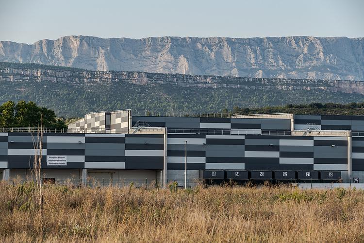 Entrepôt logistique LIDL à Rousset