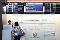 JAL system trouble causes flight delays