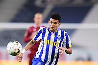 30th April 2021; Dragao Stadium, Porto, Portugal; Portuguese Championship 2020/2021, FC Porto versus Famalicao; Luis Diaz of FC Porto chases a through ball