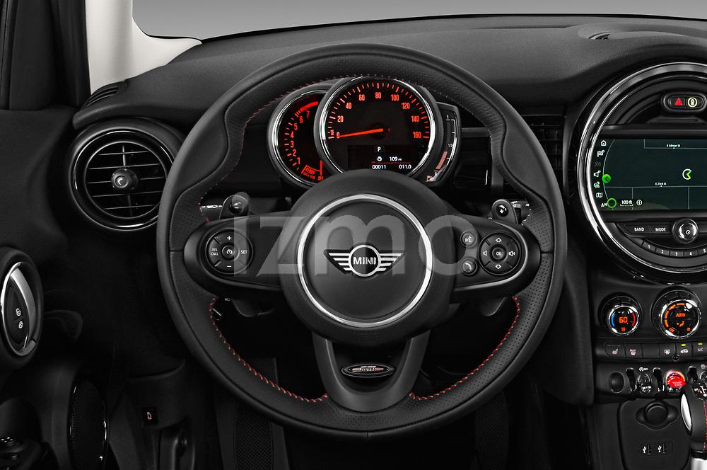 Car pictures of steering wheel view of a 2019 MINI Hardtop-4-Door Cooper-S 5 Door Hatchback Steering Wheel