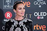 Nieves Alvarez attends red carpet of Goya Cinema Awards 2018 at Madrid Marriott Auditorium in Madrid , Spain. February 03, 2018. (ALTERPHOTOS/Borja B.Hojas)