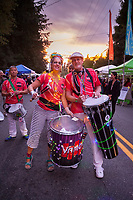 Vamola Drum & Dance Ensemble, Arts A Glow Festival 2017, Dottie Harper Park, Burien, WA, USA.