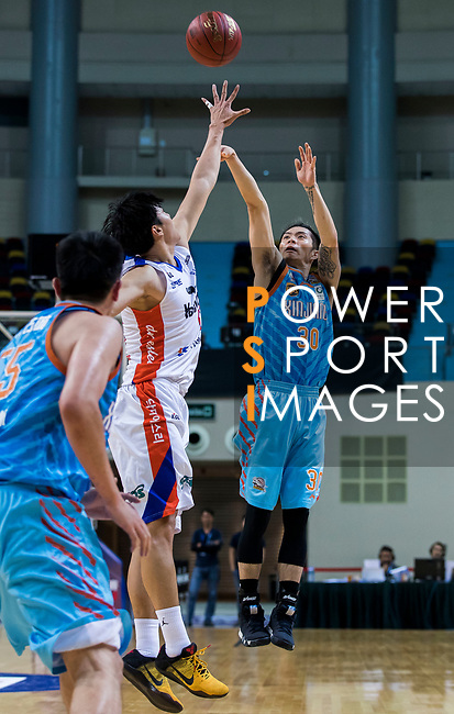 Etland Elephants vs Xinjiang Guanghui Flying Tigers during the Summer Super 8 at the Macao East Asian Games Dome on July 17, 2018 in Macau, Macau. Photo by Yu Chun Christopher Wong / Power Sport Images
