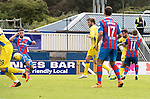 Inverness Caley Thistle v St Johnstone…27.08.16..  Tulloch Stadium  SPFL<br />Richie Foster scores his goal<br />Picture by Graeme Hart.<br />Copyright Perthshire Picture Agency<br />Tel: 01738 623350  Mobile: 07990 594431