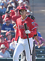MLB: Los Angles Angels vs Cincinnati Reds: Shohei Otani (Angels) at bat