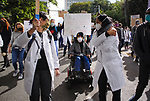 Doctors for Justice March in Seattle, WA USA<br />