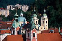 Slowenien. Lubljana, Dom, Franziskanerkirche
