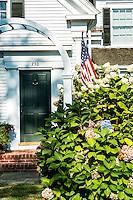 Quaint colonial house, Chatham, Cape Cod, Massachusetts, USA