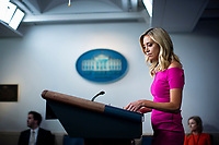 Kayleigh McEnany, White House press secretary, speaks during a news conference in the James S. Brady Press Briefing Room at the White House in Washington D.C., U.S. on Monday, June 22, 2020. <br /> Credit: Al Drago / Pool via CNP/AdMedia