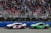 #11: Denny Hamlin, Joe Gibbs Racing, Toyota Camry FedEx Office #18: Kyle Busch, Joe Gibbs Racing, Toyota Camry Interstate Batteries