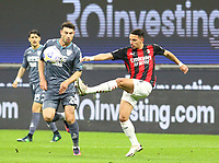 Milano 01-05 2021<br /> Stadio Giuseppe Meazza<br /> Serie A  Tim 2020/21<br /> Milan - Benevento<br /> Nella foto:  Ismael Bennacer                                    <br /> Antonio Saia Kines Milano