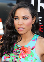 HOLLYWOOD, LOS ANGELES, CA, USA - JUNE 17: Actress Jurnee Smollett arrives at the Los Angeles Premiere Of HBO's 'True Blood' Season 7 held at the TCL Chinese Theatre on June 17, 2014 in Hollywood, Los Angeles, California, United States. (Photo by Xavier Collin/Celebrity Monitor)