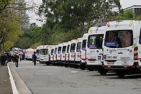 20.08.2020 - Protesto de vans escolares em SP