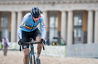Toon Aerts (BEL/Baloise-Trek Lions)<br /> <br /> UCI 2021 Cyclocross World Championships - Ostend, Belgium<br /> <br /> Elite Men's Race<br /> <br /> ©kramon