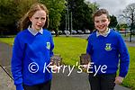 Castleisland Community College Students taking part in the Gael Linn Comórtas Óráide na Phiarsaigh Craobh Réigiúnach 2021 competition. L to r:Catriona Murphy and Eilish Enright.