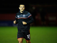 Lincoln City's Ramirez Howarth during the pre-match warm-up<br /> <br /> Photographer Chris Vaughan/CameraSport<br /> <br /> EFL Papa John's Trophy - Northern Section - Group E - Lincoln City v Manchester City U21 - Tuesday 17th November 2020 - LNER Stadium - Lincoln<br />  <br /> World Copyright © 2020 CameraSport. All rights reserved. 43 Linden Ave. Countesthorpe. Leicester. England. LE8 5PG - Tel: +44 (0) 116 277 4147 - admin@camerasport.com - www.camerasport.com