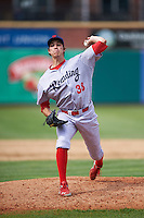 Reading Fightin Phils relief pitcher Tom Windle (38) during a game against the New Hampshire Fisher Cats on May 30, 2016 at Northeast Delta Dental Stadium in Manchester, New Hampshire.  New Hampshire defeated Reading 9-1.  (Mike Janes/Four Seam Images)