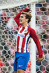 Antoine Griezmann of Atletico de Madrid celebrates during their La Liga match between Atletico de Madrid and Granada CF at the Vicente Calderon Stadium on 15 October 2016 in Madrid, Spain. Photo by Diego Gonzalez Souto / Power Sport Images