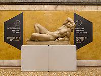 Relief im Treppenhaus, Nationalmuseum, Belgrad, Serbien, Europa<br /> Relief, staircase of Natioanal Museum,  Belgrade, Serbia, Europe